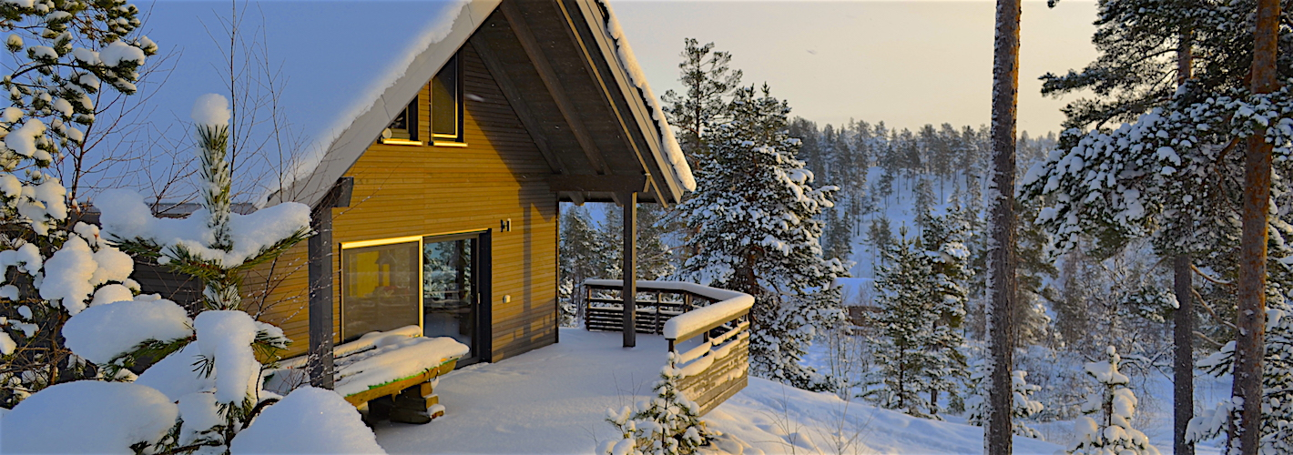 Ein modernes Ferienchalet <strong>in Norwegen</strong>