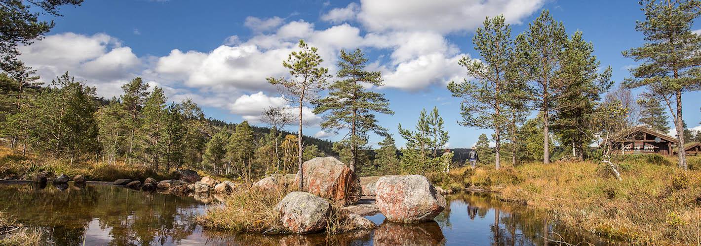 ...in der herrlichen Natur <strong>der Telemark...</strong>